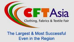 2018年巴基斯坦亚洲纺织机械(TEXTILE ASIA)及面料(CFT ASIA)展2018 年 3 月 27-29 日