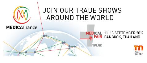 2019年泰国国际医疗展  Medical Fair Thailand 2019年9月11日-13日