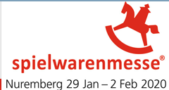 2020年1月德国纽伦堡国际玩具展览会   2020年1月29日-2月2日